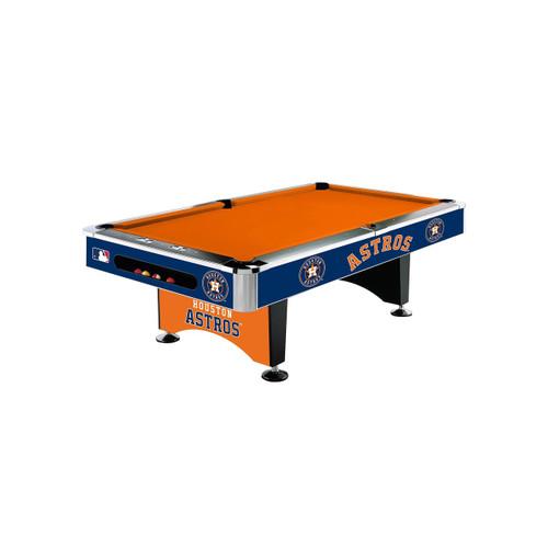 MLB Licensed 8' Pool Table
