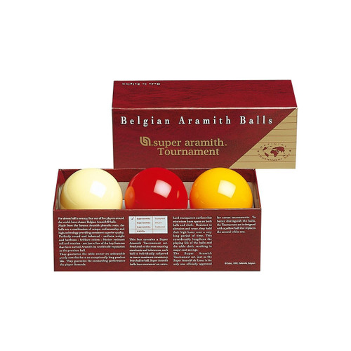 Aramith Super Pro Carom Tournament Ball Set