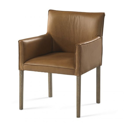 Benjamin Leather Game Chair