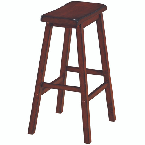Wooden Backless Barstool