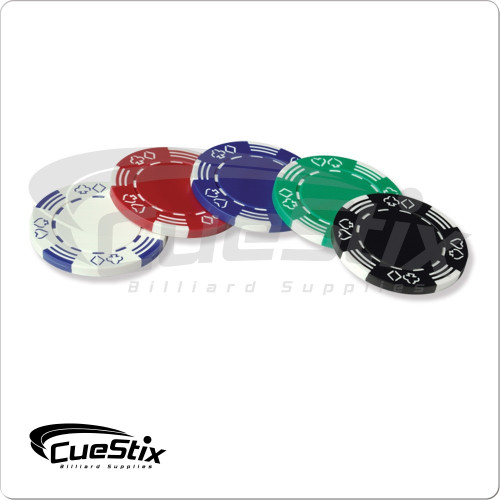 11.5g Stipped/Suited Poker Chips