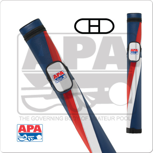APA 2x2 Red, White and Blue Hard Case