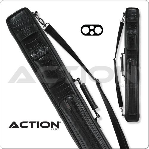 Action 2x2 Leatherette Soft Cue Case