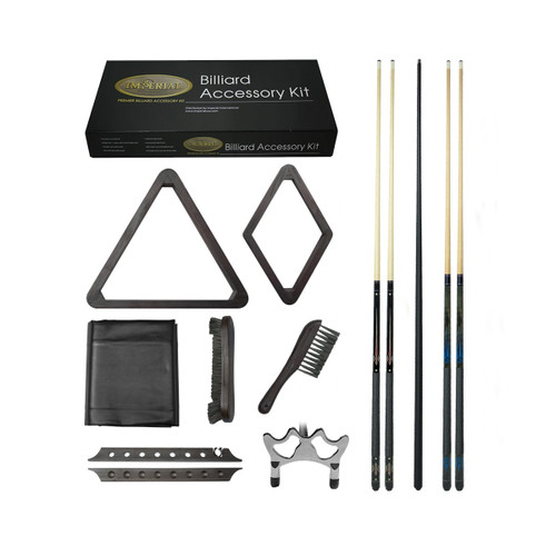 Reno Brown Gold Billiard Accessory Kit