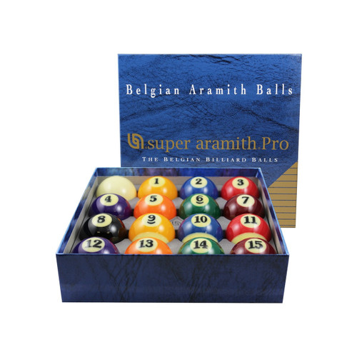 Super Aramith Professional 2 1/4in Billiard Ball Set