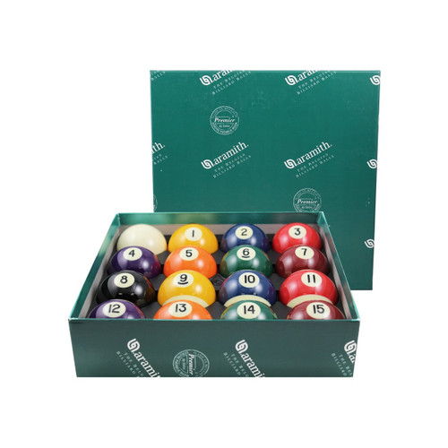 Aramith Premier 2 1/4in Billiard Ball Set