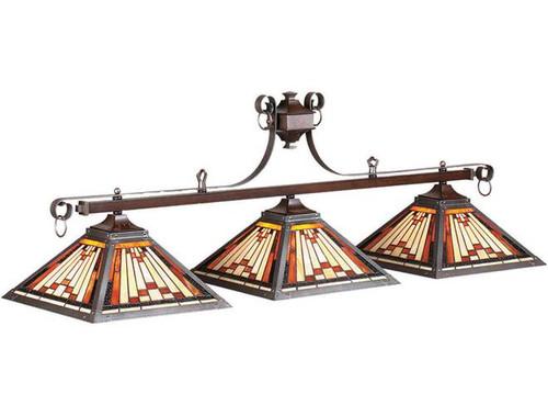 Rustic 3 Bulb Lamp