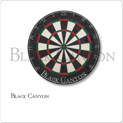 Black Canyon Bristle Dart Board With Bladed Wire