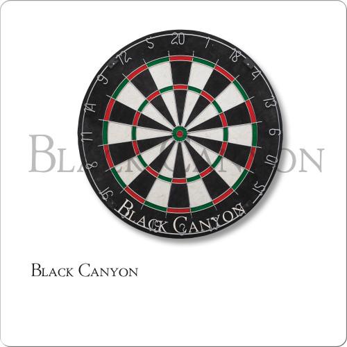 Black Canyon Bristle Dart Board With Round Wire