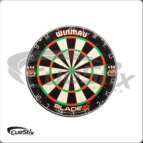 Winmau Blade V Galvanized Angled Blades Dart Board