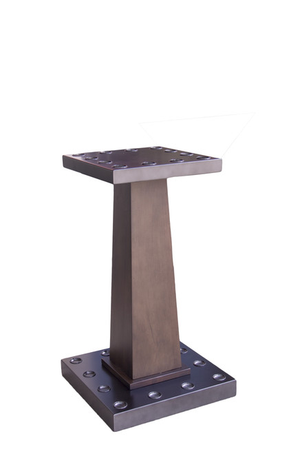Steel/Wood Floor Rack