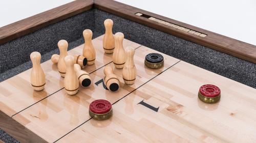 Shuffleboard Bowling Kit