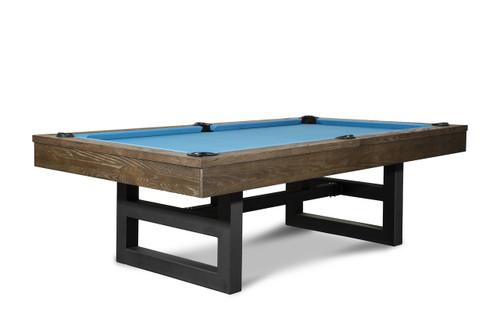 Mckay Slate Pool Table   Brown Wash