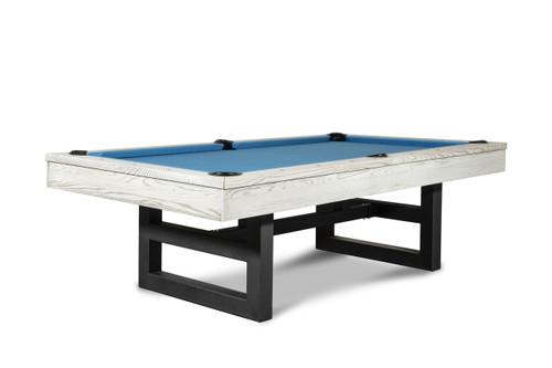 Mckay Slate Pool Table | Whitewash Finish