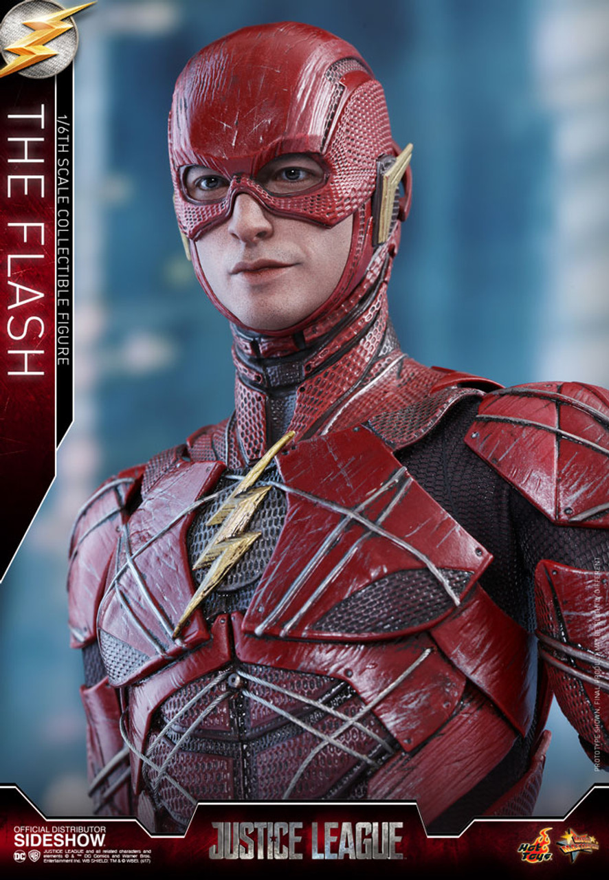 Justice League Figure Movie Flash Barry Allen Gallery Statue