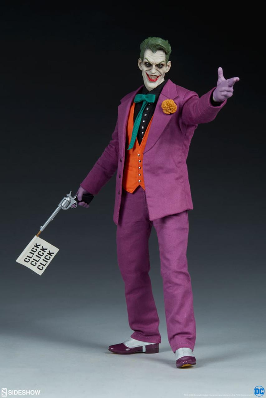 Le Joker 1:6 Sixth Scale Figure 2019 DC Sideshow Collectibles nouveau