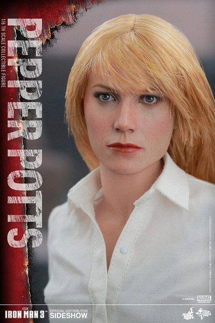 PEPPER POTTS Gwyneth Paltro 1:6 Sixth Scale Figure by Hot Toys