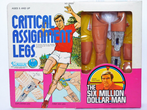 Vintage Six Million Dollar Man Critical Assignment Legs