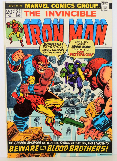 IRON MAN #55 *KEY ISSUE* THANOS