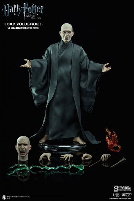 Harry Potter Deathly Hollows LORD VOLDEMORT Star Ace Toys/Sideshow 1:6 Scale_NEW