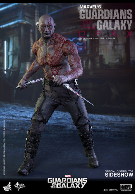 DRAX THE DESTROYER Guardians of the Galaxy 1:6  Hot Toys GOTG_SEALED SHIPPER