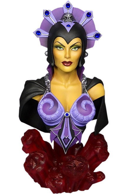 EVIL-LYN Masters of the Universe 1/4 Scale BUST by Tweeterhead