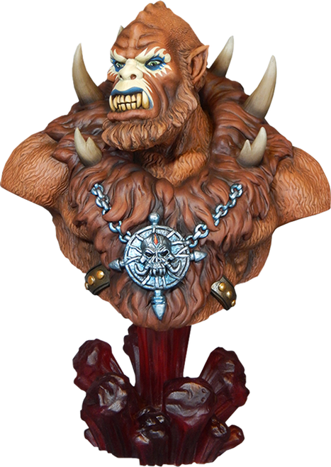 BEASTMAN 1/4 SCALE BUST  by TWEETERHEAD