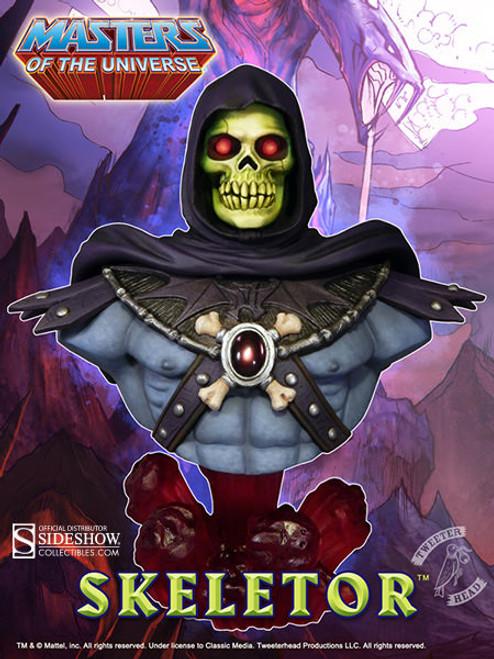 Evil SKELETOR MOTU Masters of the Universe (1/4 Scale) BUST by Tweeterhead_NEW