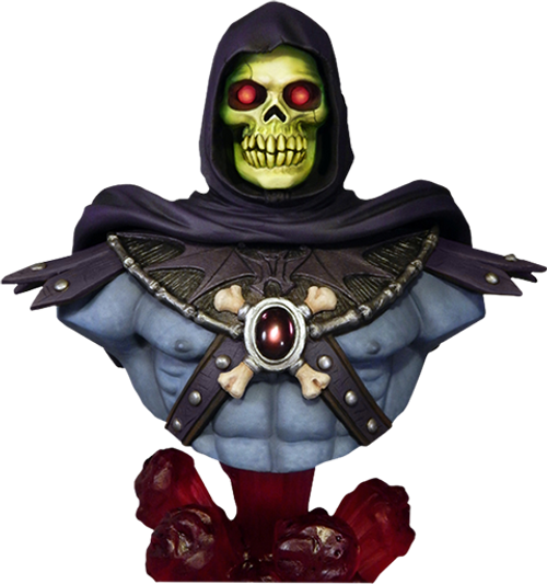 SKELETOR 1/4 SCALE BUST BY TWEETERHEAD