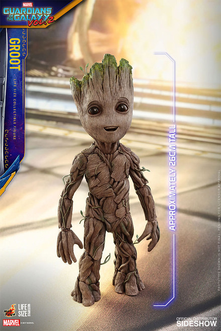BABY GROOT Guardians of the Galaxy Vol.2  1:1 LIFE SIZE  Hot Toys GOTG_SEALED SHIPPER