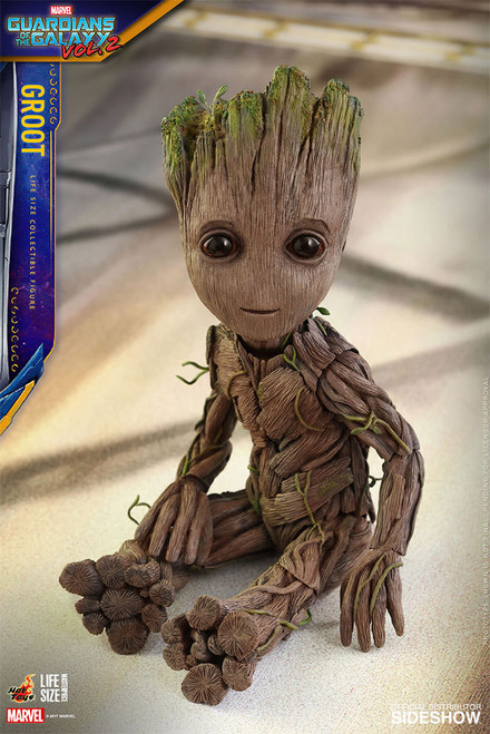 LIFE SIZE BABY GROOT 1:1 SCALE FIGURE BY HOT TOYS