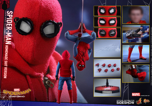 HOT TOYS Spider-Man Homecoming HOME-MADE SUIT VERSION
