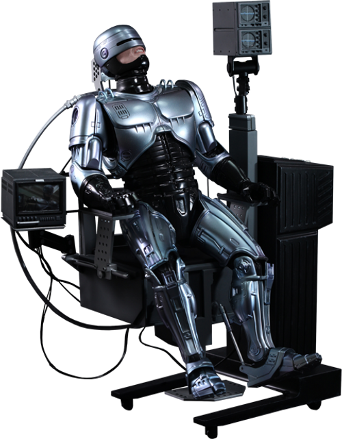 ROBOCOP with MECHANICAL CHAIR (DOCKING STATION) by Hot Toys