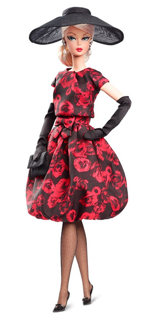 Elegant Rose Cocktail Dress™ BFMC Silkstone Barbie®