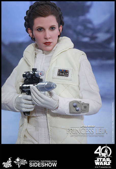 BATTLE OF HOTH PRINCESS LEIA 1:6 Hot Toys Figure