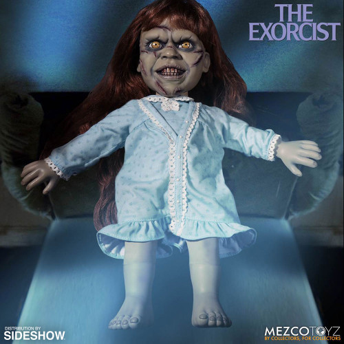 """15"""" Mega Exorcist with Sound Collectible Figure by Mezco Toyz _NRFB"""