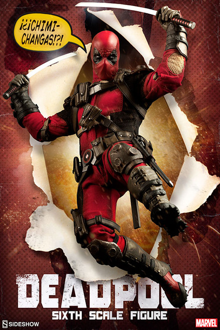 Marvel's DEADPOOL 1:6 Scale SIDESHOW EXCLUSIVE