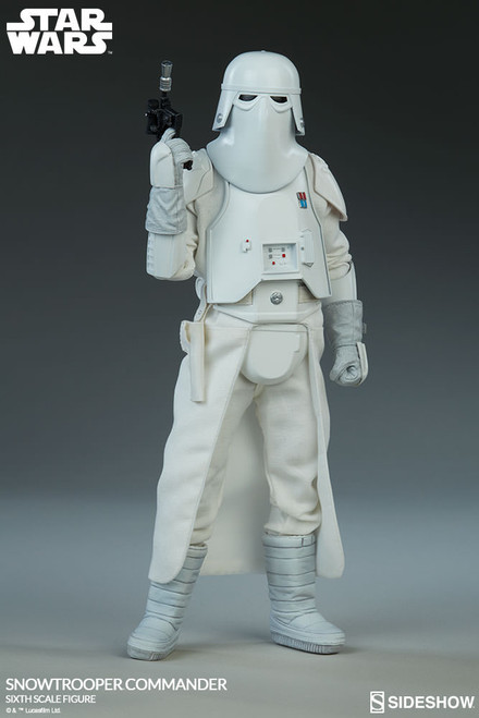 Star Wars Episode V: ESB SNOWTROOPER COMMANDER 1:6 Scale Figure by Sideshow