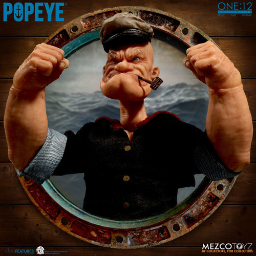 Popeye The Sailor One:12 Collectible Action Figure