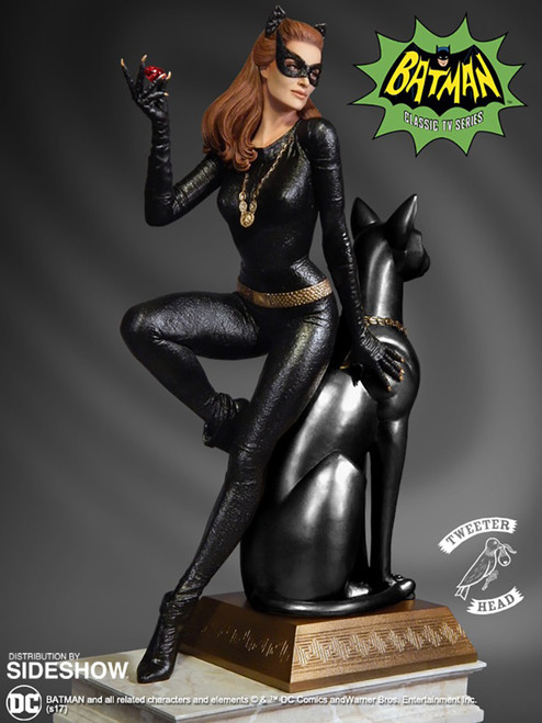 """CATWOMAN (LIMITED RUBY EDITION) 13.75"""" Julie Newmar Maquette by Tweeterhead"""