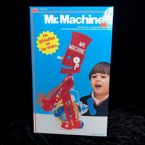 Vintage 1987 Mr. Machine Toy by Ideal Toys #5393