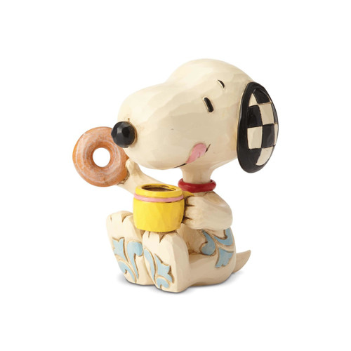 Snoopy Donut & Coffee Mini Peanuts by Jim Shore