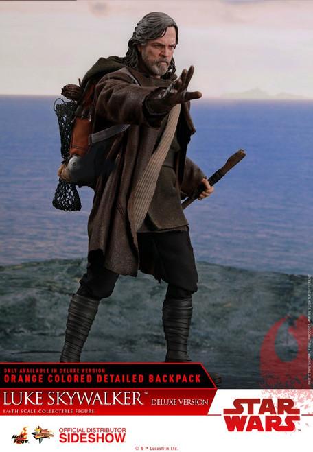 Star Wars: The Last Jedi LUKE SKYWALKER Hot Toys MMS458 1:6 Scale DELUXE Figure