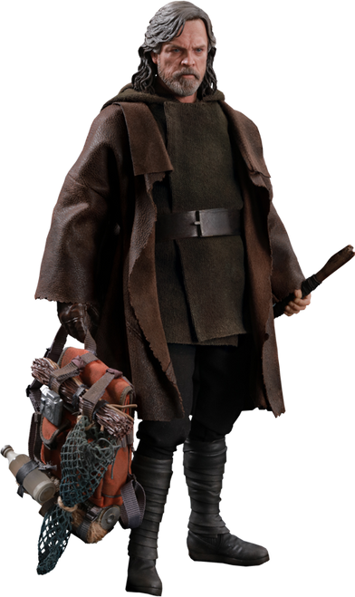 Hot Toys Star Wars: The Last Jedi Luke Skywalker Deluxe Figure