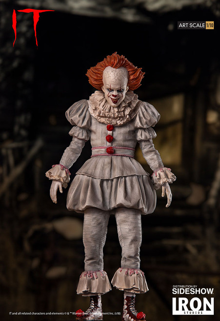 Pennywise Horror Series Statue by Iron Studios 1:10 Art Scale