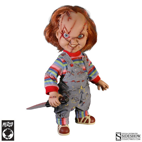 Talking Chucky Collectible Figure by Mezco Toyz Mega Scale 15""