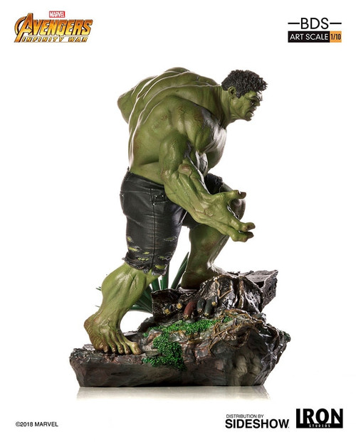 Hulk Statue by Iron Studios Avengers: Infinity War - Art Scale 1:10 Battle Diorama Series