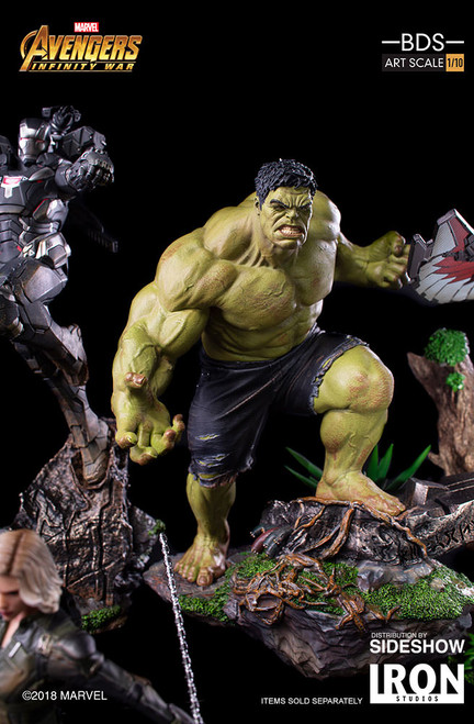 Hulk Statue by Iron Studios Avengers: Infinity War - Art Scale 1:10 Battle Diorama Series