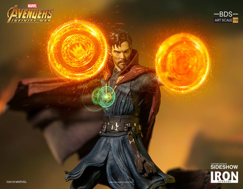 Doctor Strange Statue by Iron Studios Avengers: Infinity War - Art Scale 1:10 Battle Diorama Series