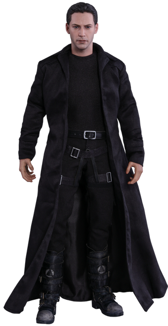 THE MATRIX: NEO Hot Toys Keanu Reeves 1:6 Scale